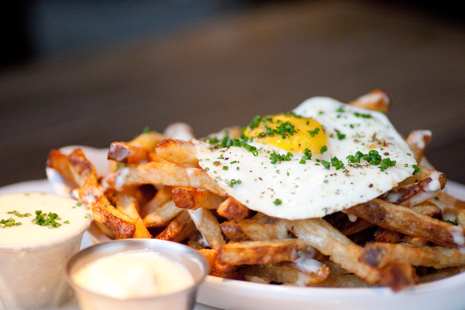 Fries and Eggs